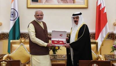 After UAE yet another Gulf Islamic Country gives top medal to Indian PM Modi