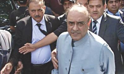PTI government claims 5,000 Bank Accounts linked with former President Asif Ali Zardari