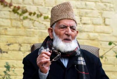 APHC Chairman Syed Ali Gillani reveals five points agenda for resistance against Indian government