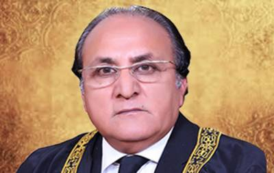 Justice Raja Saeed Akram sworn in as acting Chief Justice of AJK