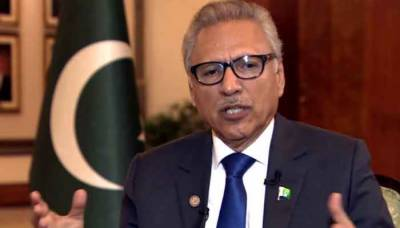 Pakistani President Arif Alvi received notice from Twitter over Kashmir tweet