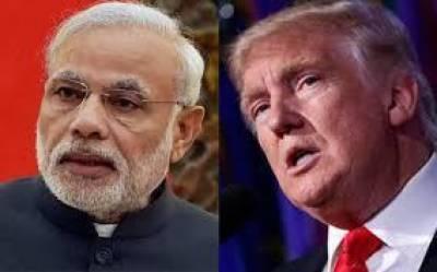 US President Donald Trump to press Indian PM Modi over Occupied Kashmir crisis