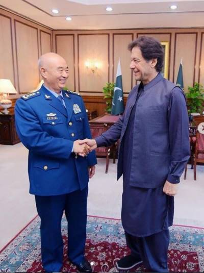 Chinese Military General conveys special message of President Xi Jinping to PM Imran Khan