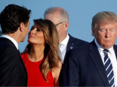 Melania Trump awkward encounter with Canadian PM Justin Trudeau puts internet on fire