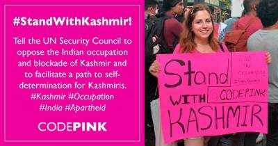 Washington based international organisation seek UNSC intervention against India over Occupied Kashmir