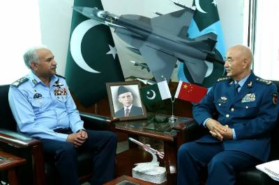 Chinese Military Commission Chief held important meeting with PAF Chief