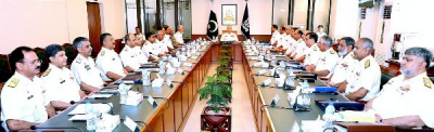 Pakistan Navy Chief gives a stern message to enemy