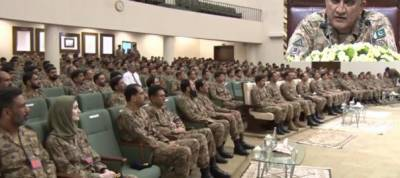 COAS General Bajwa received operational brief from Gujranwala Corps Commander