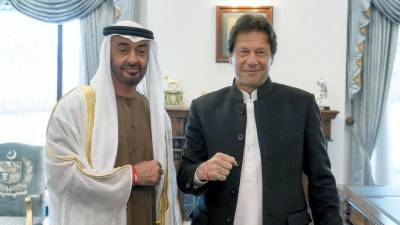 What did PM Imran Khan tell Crown Prince of Abu Dhabi in special telephonic call?