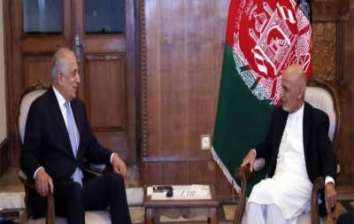 US top envoy Zalmay Khalilzad held important meeting with Afghan President over Taliban peace deal