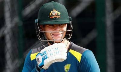 Australia's Steve Smith makes an impressive comeback