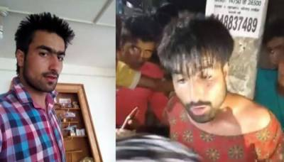 Kashmiri student mocked and humiliated in India by extremist Hindus