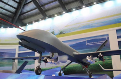 Pakistan launches indigenous advanced military armed drone with Selex Galileo technology Missiles System
