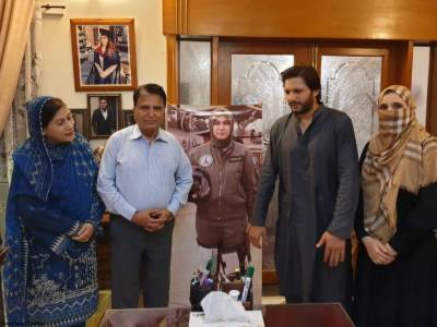 Pakistani cricket stars pay homage to the fallen heroes of the nation