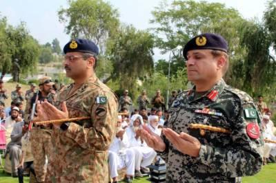 DG ISPR Maj General Asif Ghafoor is grateful to entire nation
