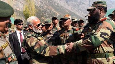 Indian Army planning operation against Pakistan at LoC