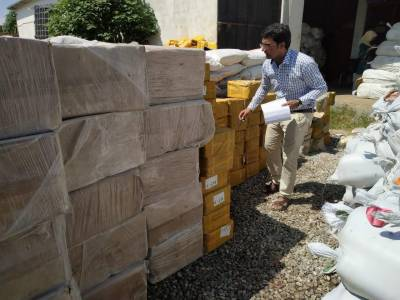 Pakistan Customs seized smuggled Indian goods worth millions of rupees in crackdown