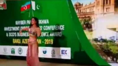 Belly dancing in international investment forum by Pakistan draws ire