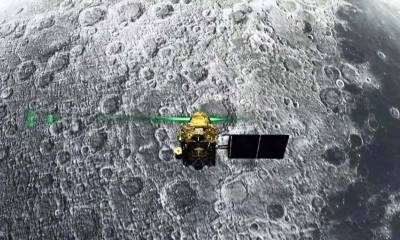 India claims locating the lost moon lander