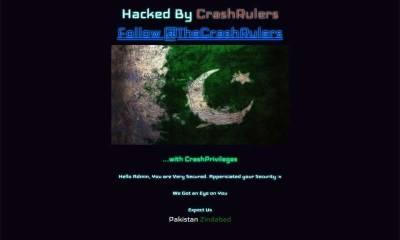 Radio Pakistan website hacked by Crash Rulers