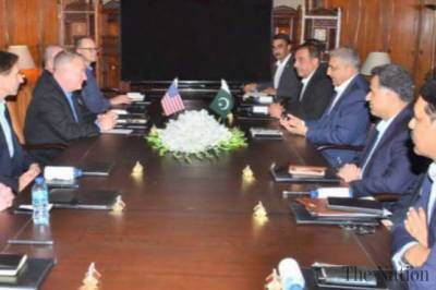 High level US Military delegation held important meeting with COAS General Bajwa in GHQ