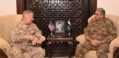 Pakistan and US top Commanders discuss Pak India conflict over Occupied Kashmir