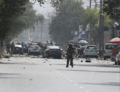 Afghan defence ministry complex comes under rocket attack in Kabul