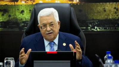 Palestinian President Mahmood Abbas threatens Israel