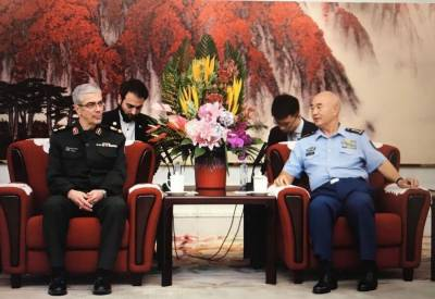 Iran and China defence and military ties enter new era: Chinese defence officials