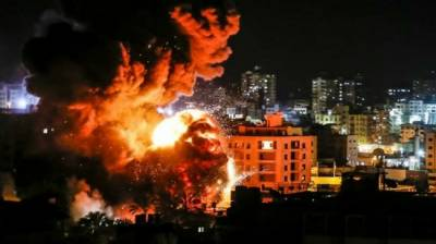Israeli Military aircraft launches missiles attack in Gaza Strip
