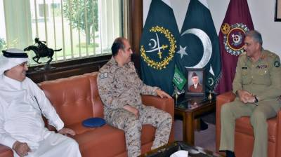Saudi Military keen to enhance defence collaboration and combat training with Pakistan Army