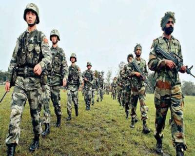 Chinese Army Challenged Indian Army patrol in disputed territory