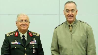 Amid tense relations, US and Turkish Military Chiefs held important meeting