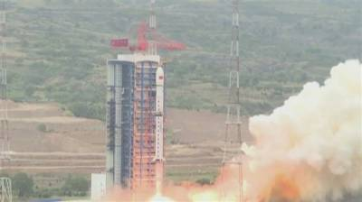 China launches three new satellites into space with new self developed technology
