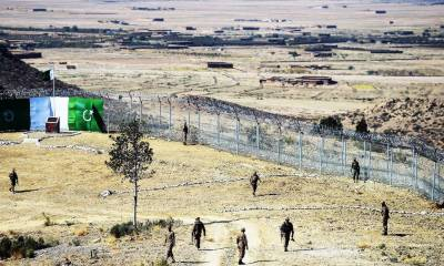 Pakistani soldiers laid down their lives while fencing the Pak Afghan border to secure country from terrorists