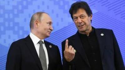 PM Imran Khan's special. Message for Russian President Vladimir Putin