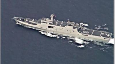 Chinese Navy Nuclear warship and Submarine near Indian waters unnerved Indian Navy