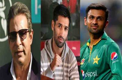 Former Pakistani skippers Waseem and Shoaib make a promise with Boxer Mohammad Waseem