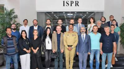 Pakistan Military briefs Turkish journalists delegation over Indian atrocities in Occupied Kashmir and at LoC