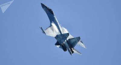 Russian state of the art Su 35 fighter jets land in Turkey