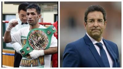 Waseem Akram apologises to Boxer Mohammad Waseem on behalf of the Pakistani nation