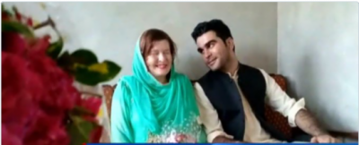 American girl comes to Pakistan, converts to Islam and marries her Facebook friend