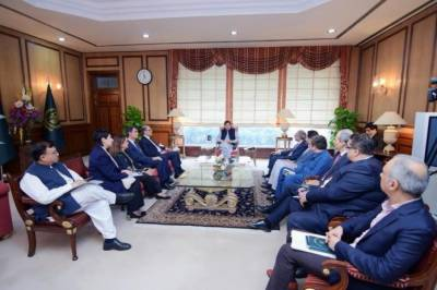IMF high level delegation calls on PM Imran Khan