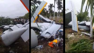 Indian Military Aircraft crashed at Aeronautical Test Range