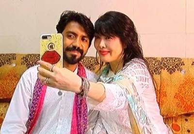 Japanese woman converts to Islam, arrived in Pakistan and married his Facebook friend
