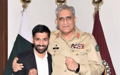 COAS General Qamar Bajwa calls Boxer Mohammad Waseem 'pride of Pakistan'