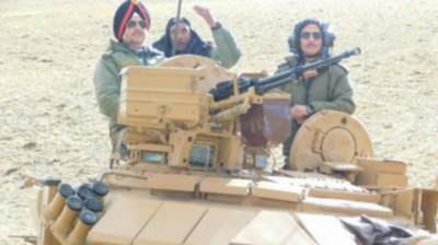 Indian Army holds massive war games at border with rare integrated battle groups