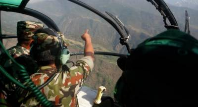 Nine Choppers carrying foreigners make emergency landing