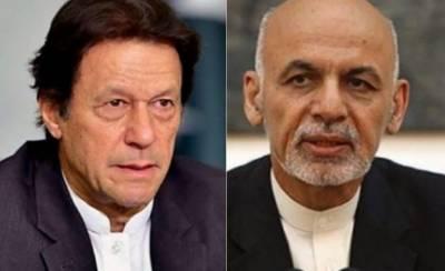 Afghan President Ashraf Ghani makes an offer to Pakistani PM Imran Khan