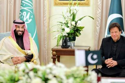 Pakistani PM Imran Khan held important meeting with Saudi Crown Prince Mohammad Bin Salman